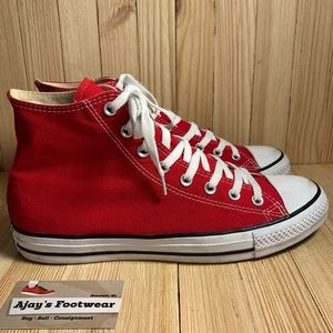 Converse Chuck Taylor All Star Red High Top Shoes